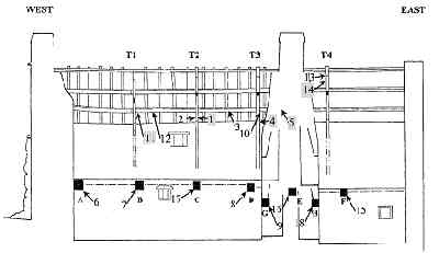 Drawing of Sections of Church House
